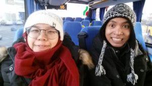 Iceland straeto bus service